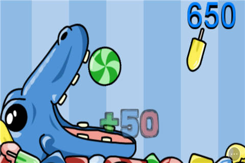 恐龙吃糖果