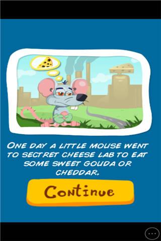 饿坏的老鼠