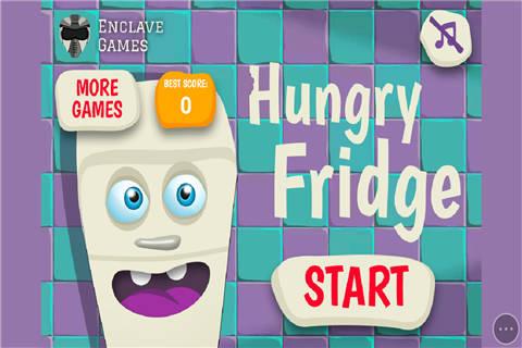饥饿的冰箱