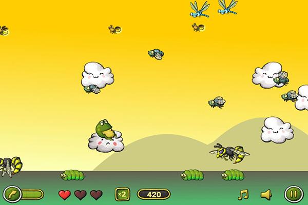 跳跃的青蛙