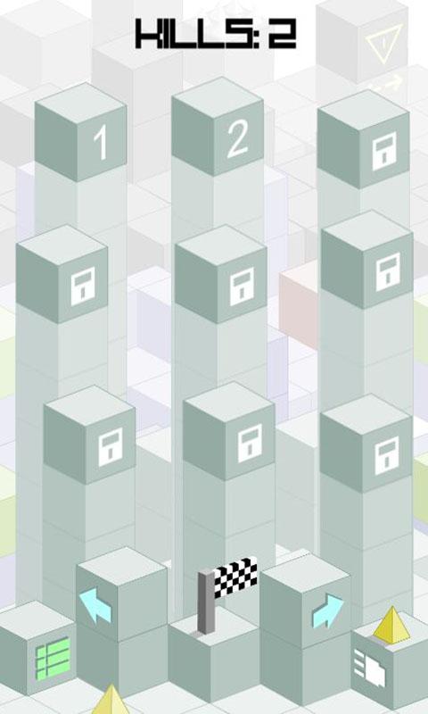 跳跃的小方块_截图