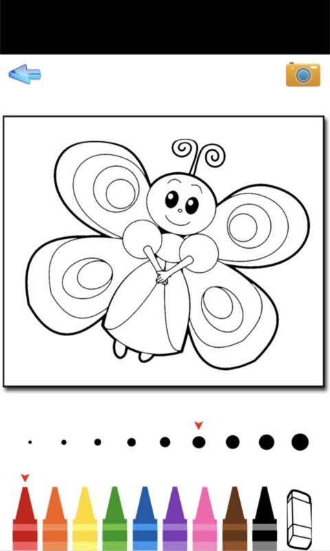 儿童动物涂鸦_截图