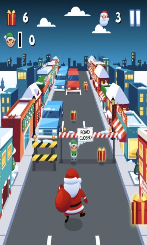 圣诞老人酷跑2_截图