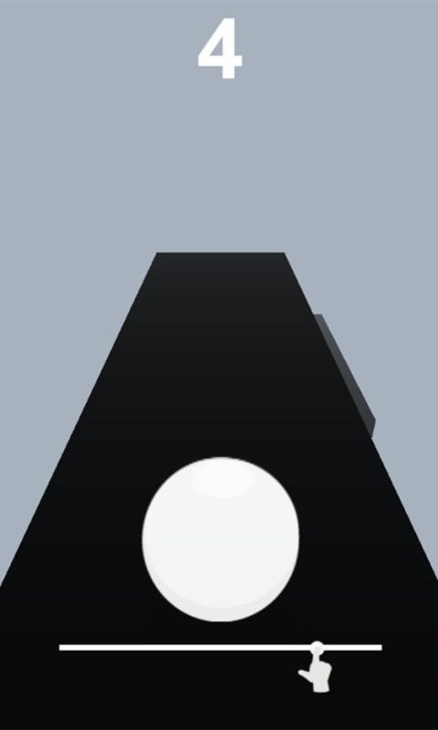 滚动的圆球