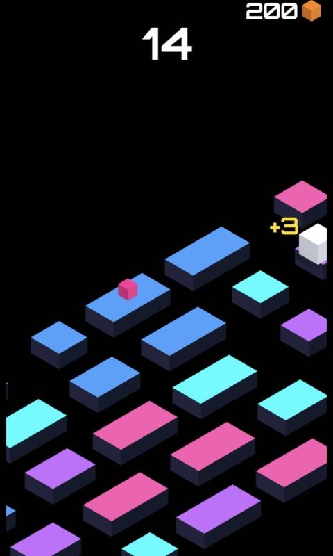 跳跃的立方体_截图