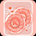草莓甜甜圈